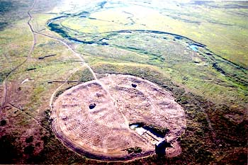 Arkaim Russia- Ancient Circular Housing
